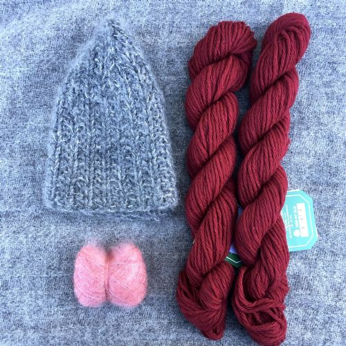 "Kit: ""Signal Rock"" hat - Dianthus"